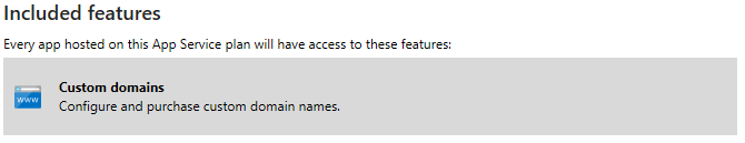 azure custom hostnames