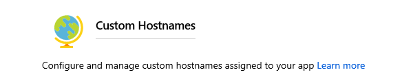 azure custom domains