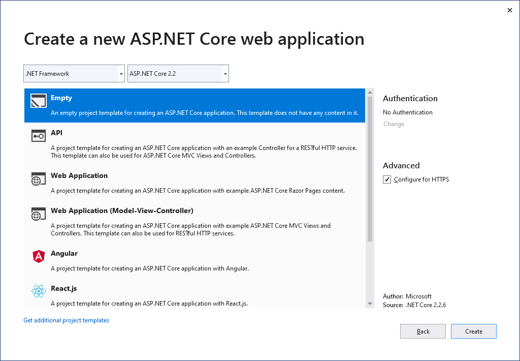 less in asp.net core project 1